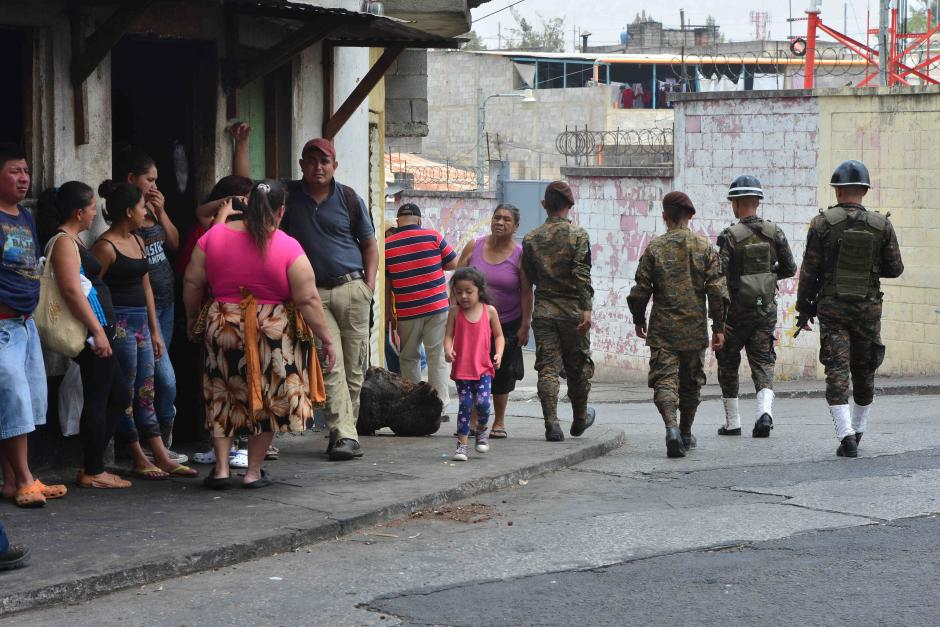 El destacamento de la zona 18 protege una de las zonas más peligrosas de la ciudad. (Foto: Jesús Alfonso/Soy502)
