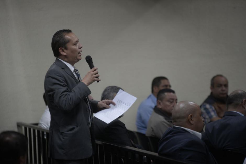 El abogado Victor Pérez Torres presentó una recusación contra Gálvez por su postulación para FIscal General. (Foto: Wilder López/Soy502)