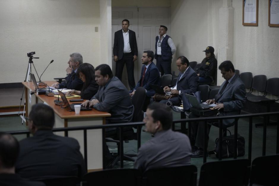 El representante del MP, Juan Francisco Sandoval, no se presentó a la audiencia. (Foto: Wilder López/Soy502)