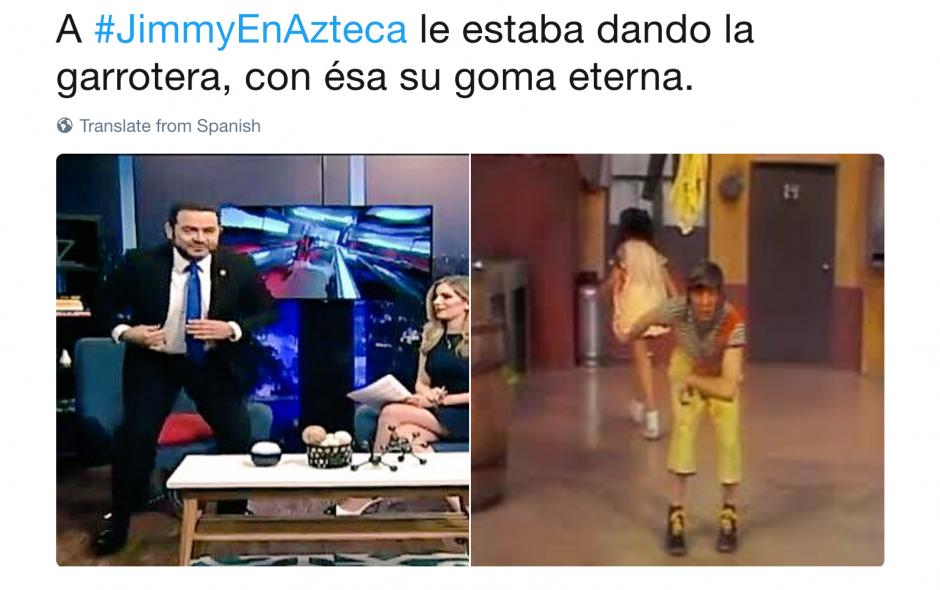 """Los """"memes"""" se burlaron de la actitud del mandatario. (Foto: @Cavalarus_J/Twitter)"""