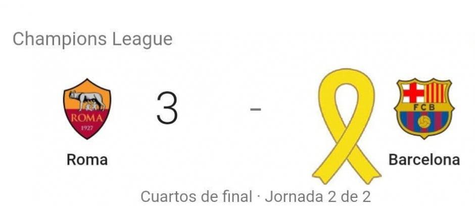 La Roma goleó al Barcelona 3-0 y avanza a semis de la Champions. (Foto: Ok Diario)