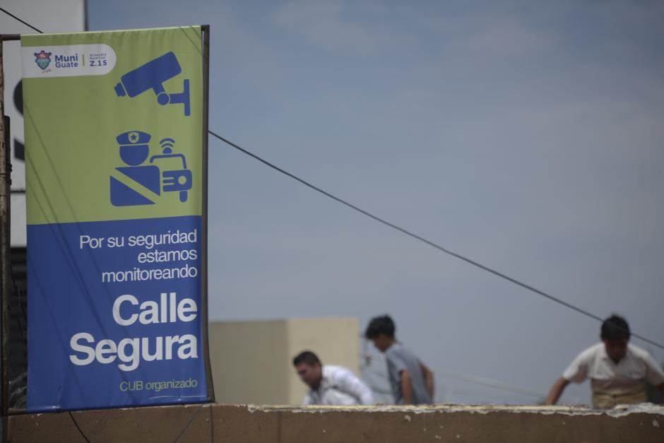 En la colonia la municipalidad asegura seguridad.  (Foto: Wilder López/Soy502)