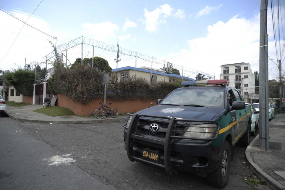 Una patrulla de la PNC fortalece la seguridad del área.  (Foto: Wilder López/Soy502)