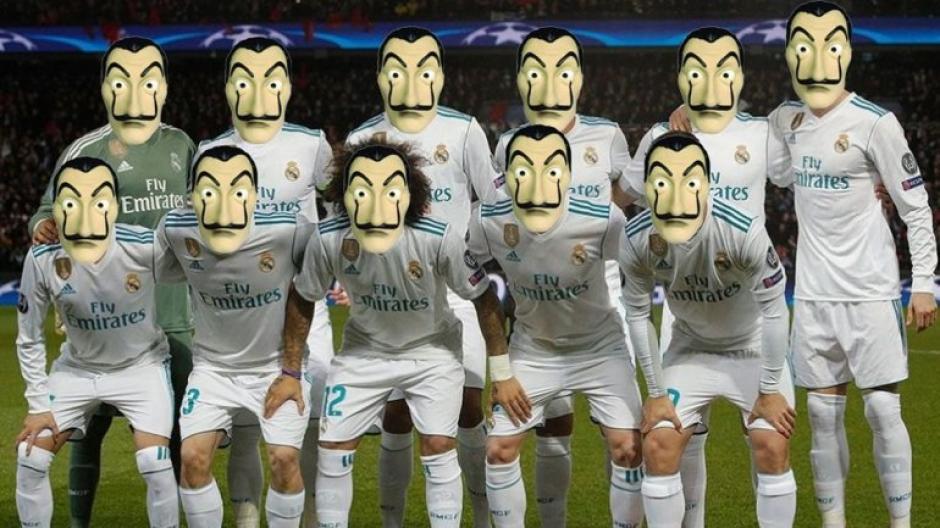 Para algunos usuarios de las redes sociales la clasificación del Real Madrid fue un robo. (Foto: twitter)