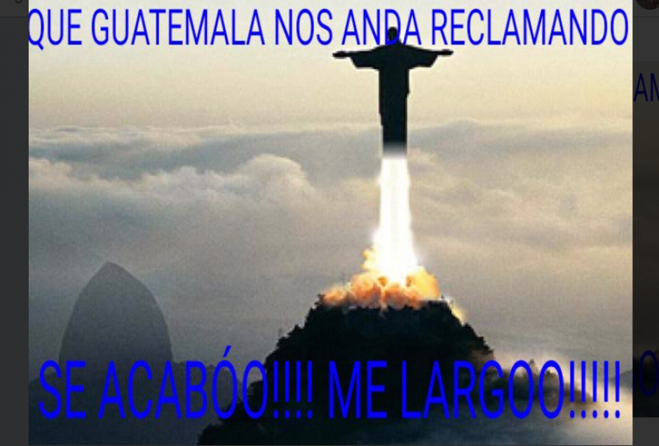 """Así los guatemaltecos realizaron varios """"memes"""". (Foto: captura de Twitter)"""