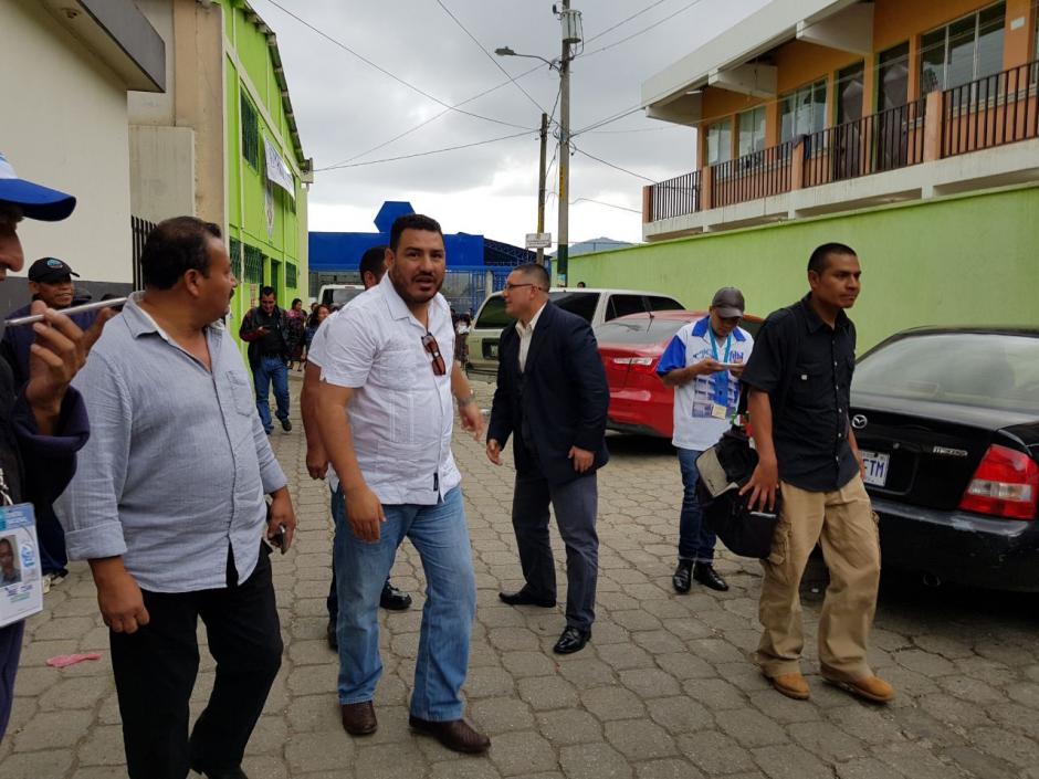 Alonzo negó haber llegado por aire al municipio. (Foto: El Gráfico de Sacatepéquez)