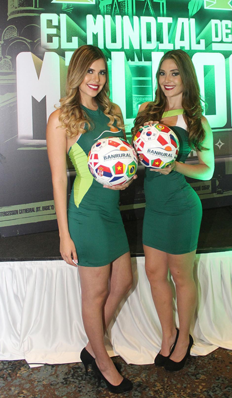 Quienes compren 10 boletas ganan un balón mundialista. (Foto: Víctor Herrarte/ND)