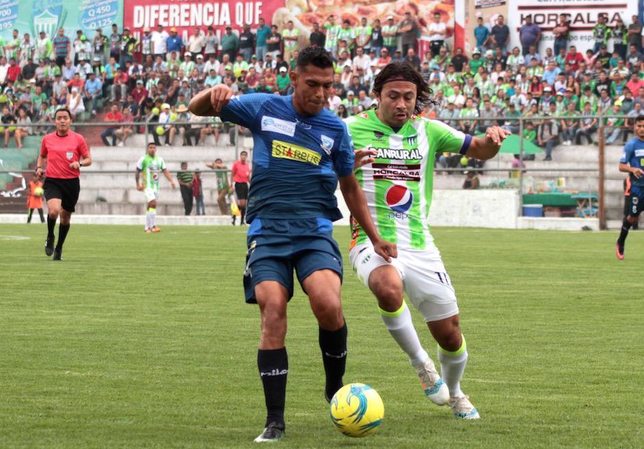 Antigua GFC y Suchitepéquez ofrecieron un gran partido. (Foto: Luis Barrios/Soy502)