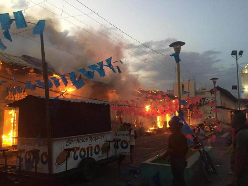 Managua vive días de enfrentamientos. (Foto: Twitter)
