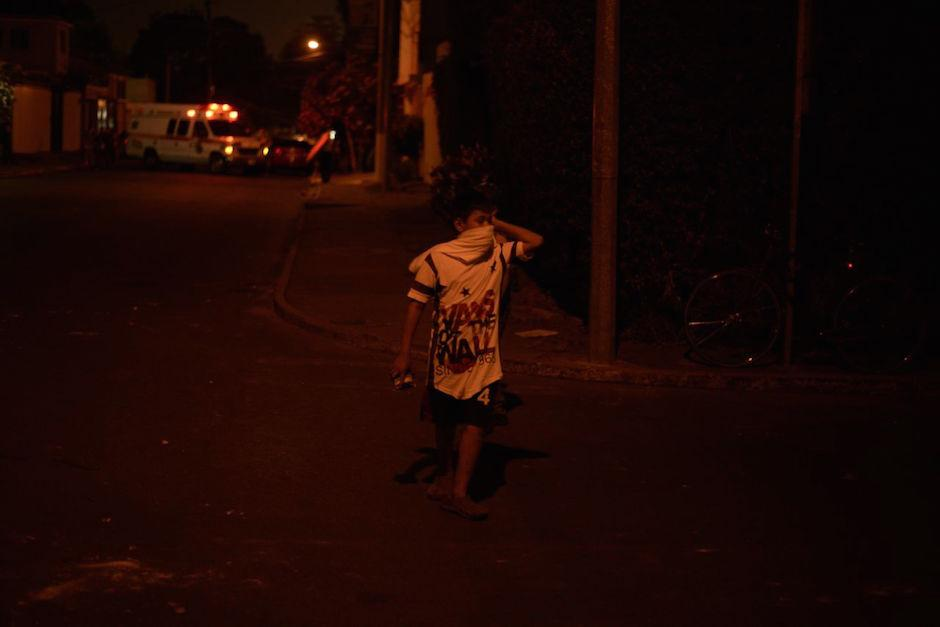 Uno de los internos en las calles de la colonia El Maestro. (Foto: Wilder López)