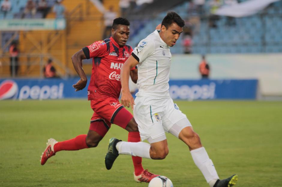 Comunicaciones se quedó con los tres puntos ante Malacateco. (Foto: Rudy Martínez/Soy502)