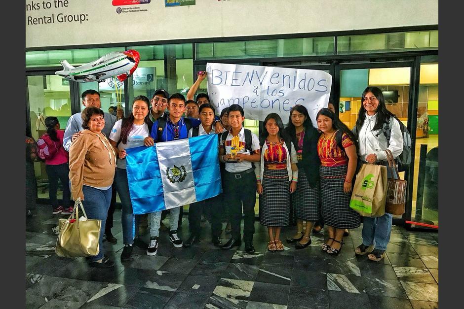 Niños de San Juan Sacatepéquez y de El Progreso participaron en la competencia. (Foto: cortesía Cempro)