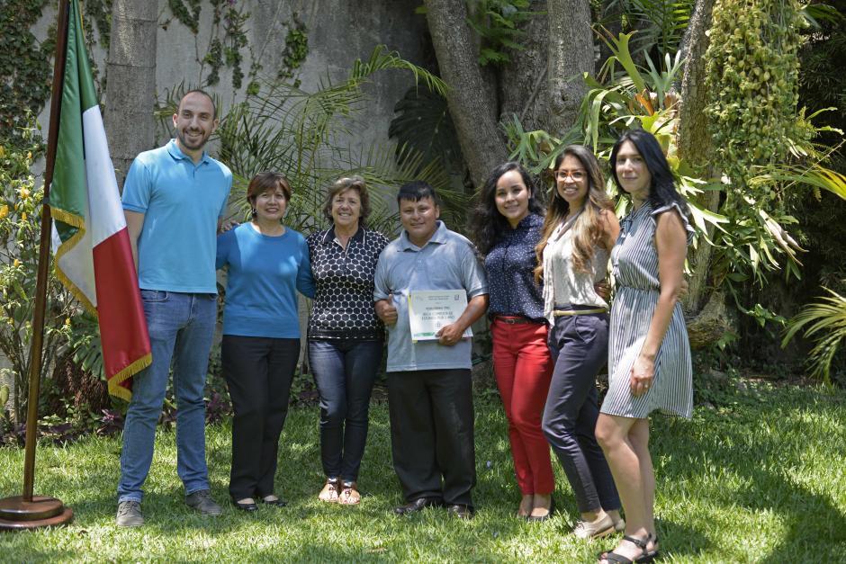 Los profesores quedaron impresionados con la fluidez de Perebal. (Foto: Wilder López/Soy502)
