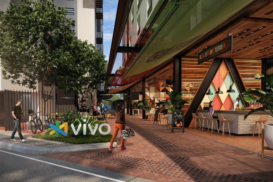 El nuevo concepto de vivienda vertical traerá movilidad y conexión a los vecinos. (Foto: Modus Vivendi)