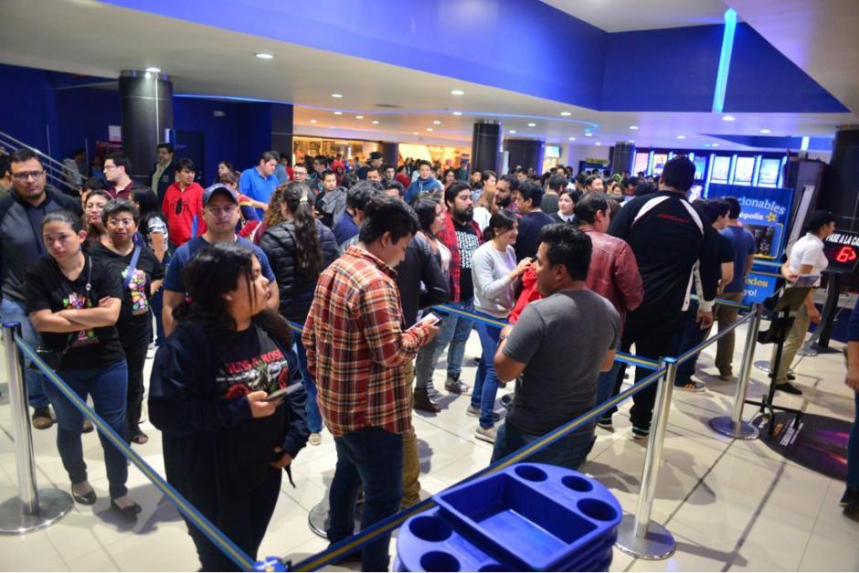 Los boletos están agotados, incluso para el fin de semana. (Foto: Jesús Alfonso/Soy502)