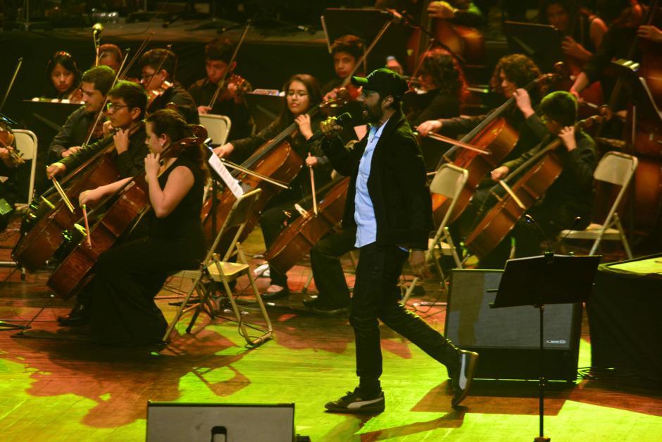 Bohemia Suburbana se unió al Sistema de Orquestas de Guatemala. (Foto: Jesús Alfonso/Soy502)