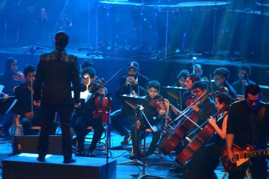 El Sub Sinfónico emocionó a los asistentes. (Foto: Jesús Alfonso/Soy502)