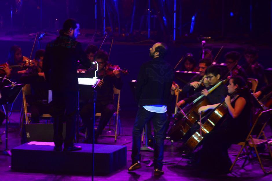 A ellos los acompañaron maestros de la Orquesta Sinfónica Nacional. (Foto: Jesús Alfonso/Soy502)