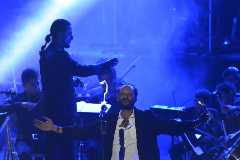 También acompañaron al concierto maestros de la Banda Sinfónica Marcial. (Foto: Jesús Alfonso/Soy502)
