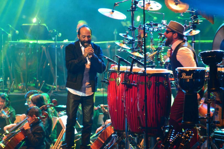 Los integrantes de Bohemia fueron presa de la emoción. (Foto: Jesús Alfonso/Soy502)
