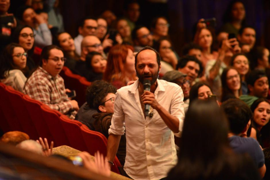 Peces e Iguanas fue interpretada entre el público. (Foto: Jesús Alfonso/Soy502)