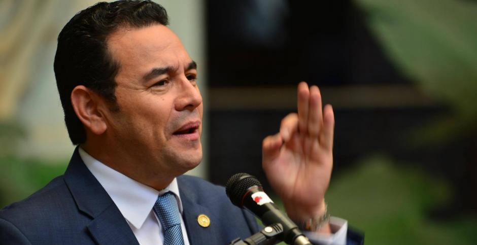 El MP presentó este viernes un antejuicio contra el mandatario. (Foto: archivo/Soy502)