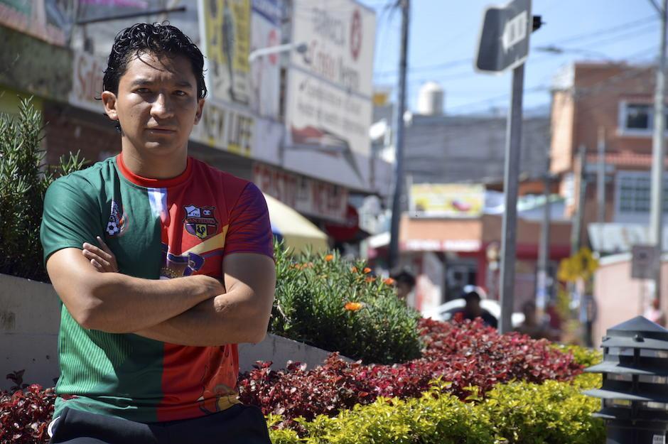 César Villaluz hizo un gran torneo con Deportivo San Pedro de Guatemala. (Foto: Jenner Barrios/Colaborador)