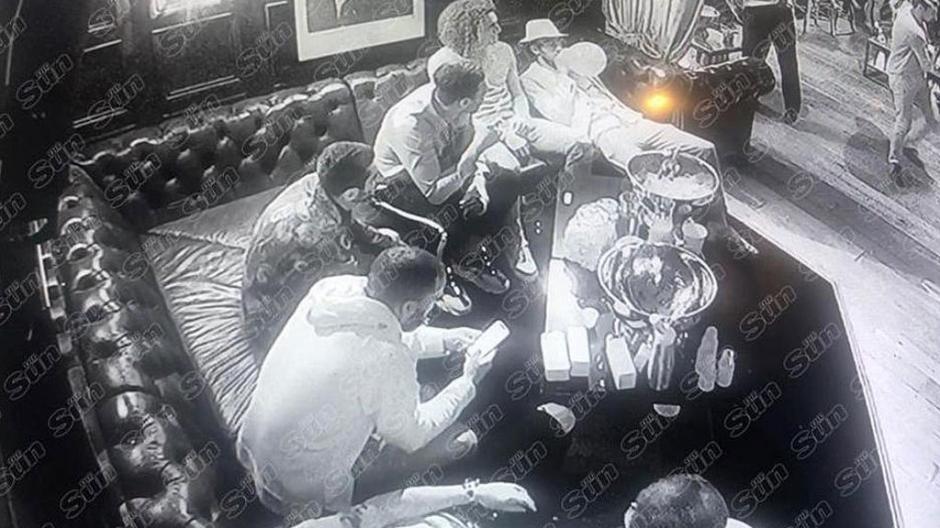 Jugadores del Arsenal son captados consumiendo droga
