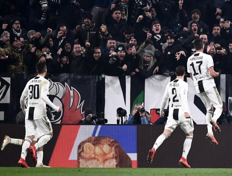 Juventus derrotó a Inter y saca más ventaja en la cima