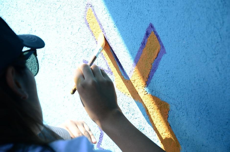 Junto a tu familia o amigos puedes organizar un tour para pintar una casa.  (Foto: Selene Mejía/Soy502)