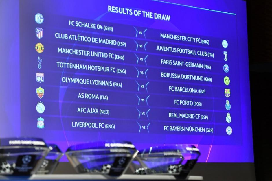 Tres partidazos para los octavos de final de la Champions League