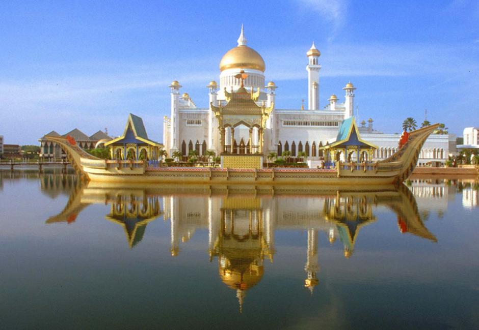 Los palacios de Brunéi Darussalam enormes y ostentosos. (Foto: Eurovision)
