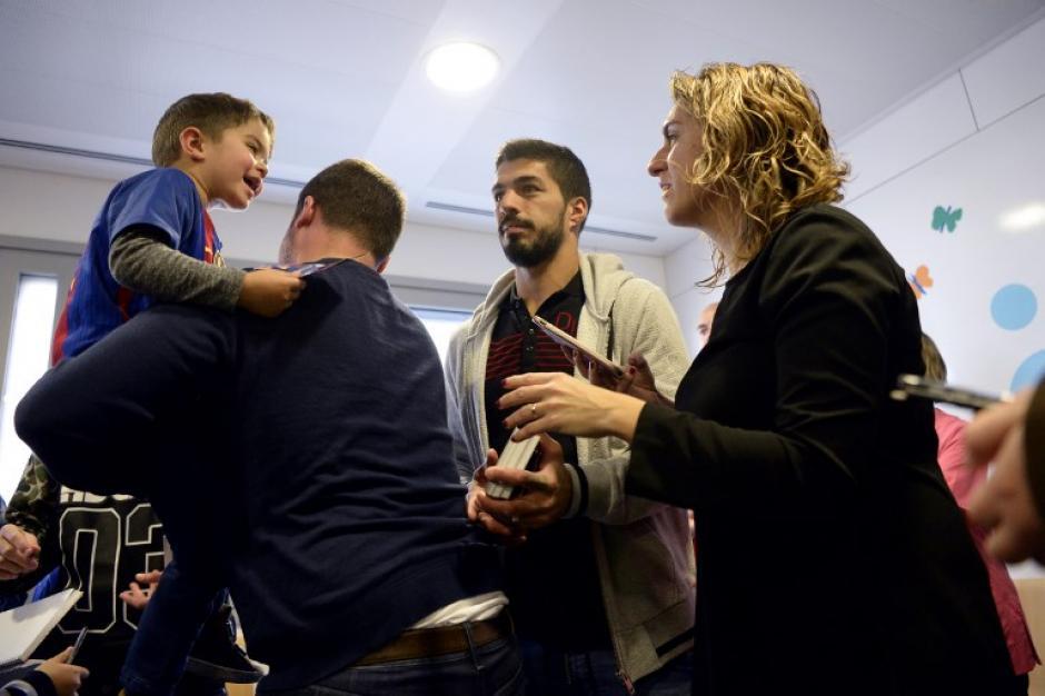 Estas actividades son propias del FC Barcelona que realiza cada año. (Foto: AFP)