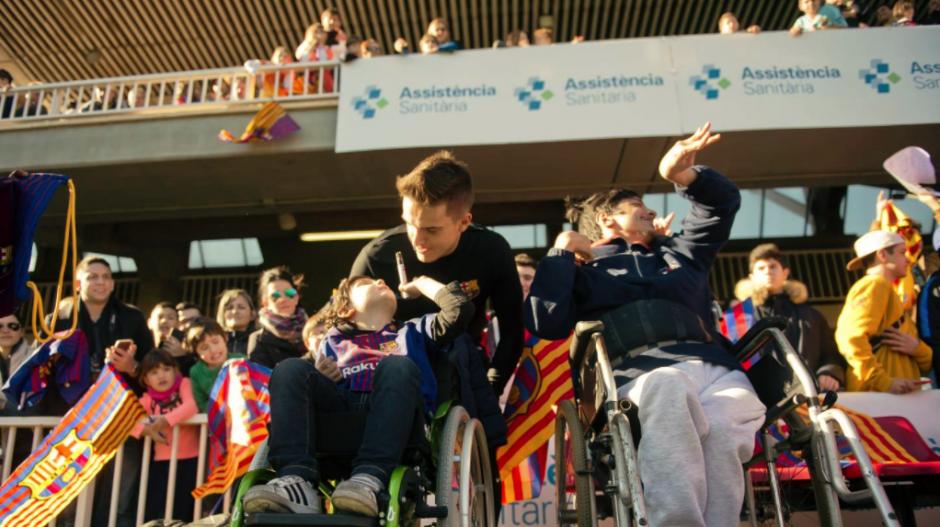 Esta es la primera sesión a puerta abierta del 2018 del Barcelona. (Foto: FC Barcelona)