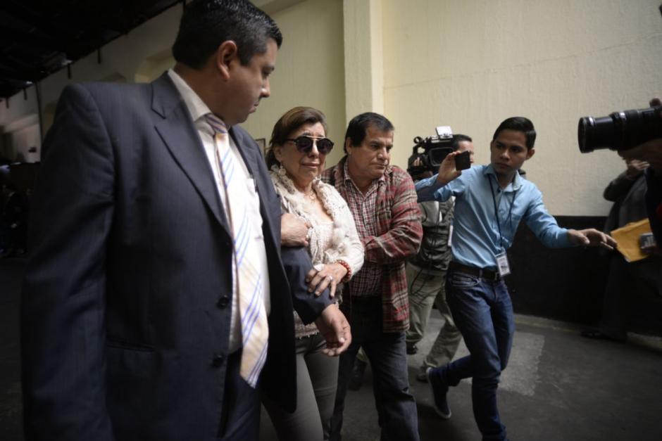 Anabella de León aseguró sentirse enferma. (Foto: Wilder López/Soy502)