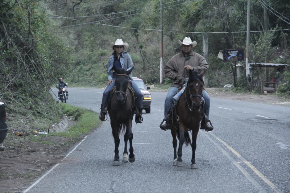 Los participantes parten con varios días de antelación desde Jutiapa. (Foto: Fredy Hernández/Soy502)