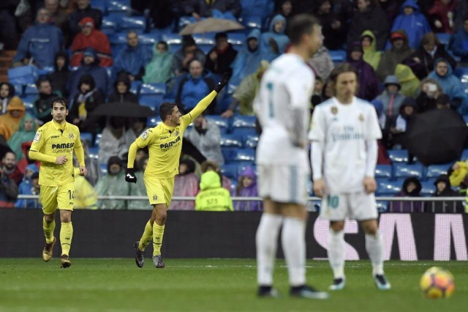 El Villarreal logró el gol al minuto 87. (Foto: AFP)