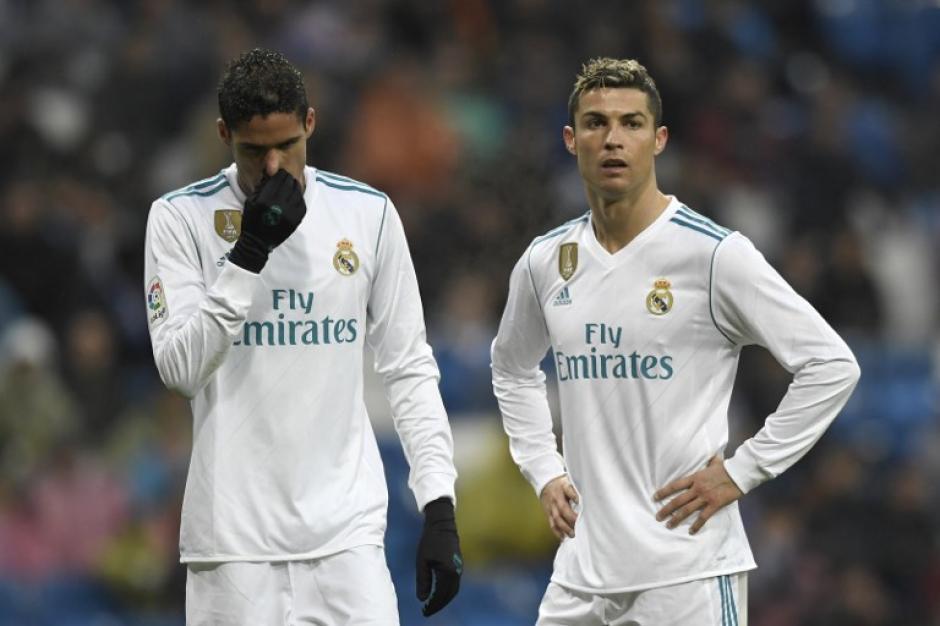 El Real Madrid no da crédito a la racha que vive en La Liga. (Foto: AFP)