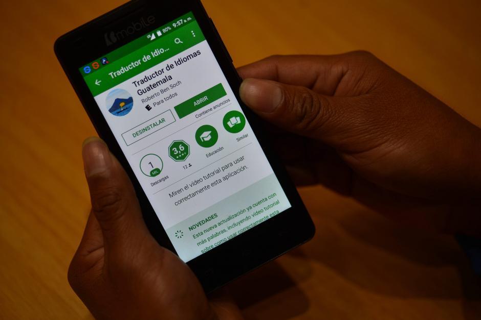La aplicación busca que los estudiantes utilicen esta herramienta en tareas escolares. (Foto: Jesús Alfonso/Soy502)
