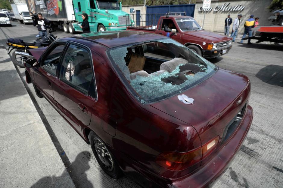 Según las autoridades, hubo intercambio de disparos. (Foto: Wilder López/Soy502)