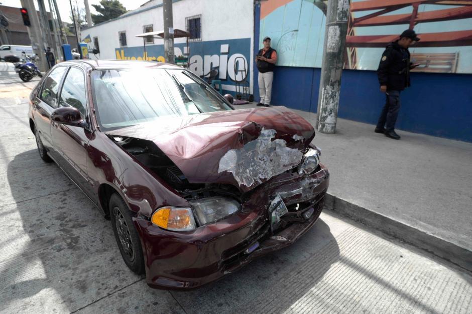 La PNC capturó a un presunto integrante del Barrio 18. (Foto: Wilder López/Soy502)
