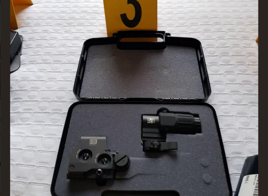 Varios objetos para armamento fueron localizados. (Foto: MP)