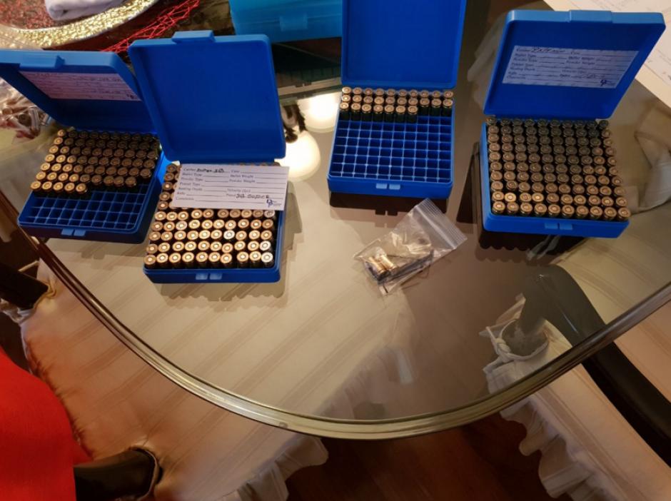 Las municiones se encontraban en sus cajas de fábrica. (Foto: MP)