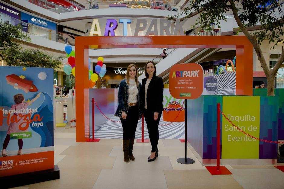 """""""En Naranjo Mall desarrollamos múltiples actividades para que nuestros invitados disfruten de momentos únicos en este regreso a clases, incorporando arte y creatividad"""", comenta Sigrid Kappler, gerente de Naranjo Mall. (Foto: Victor Xiloj/Soy502)"""