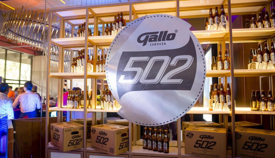 Gallo 502 está disponible desde ya en puntos de venta de todo el país. (Foto: George Rojas/Soy502)