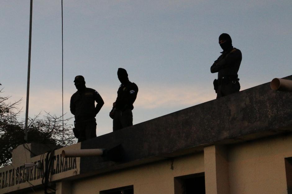 El operativo a cargo del Grupo Élite empezó a las 5:30 de la mañana de este 20 de enero. (Foto: DGSP)