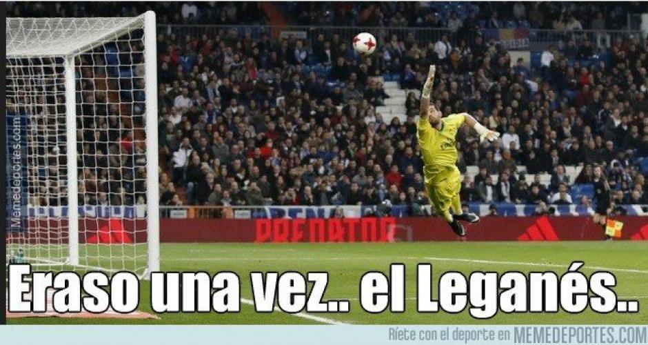 El Leganés eliminó al Real Madrid. (Foto: Twitter)