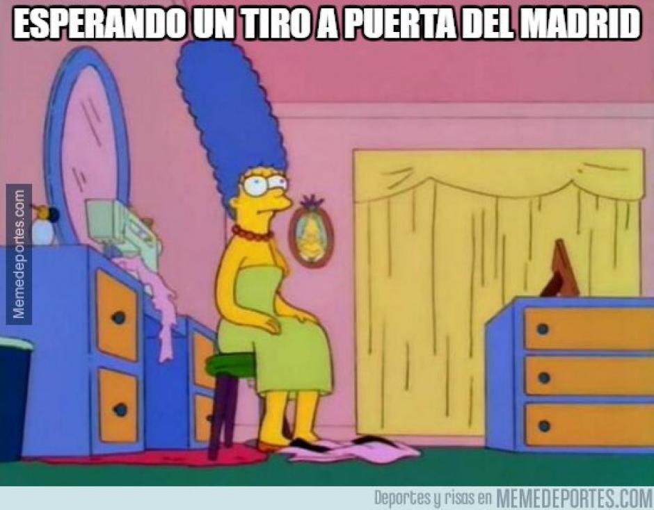"""Sin duda, los Simpson no podían faltar en los """"memes"""" de la eliminación del Madrid. (Foto: Twitter)"""