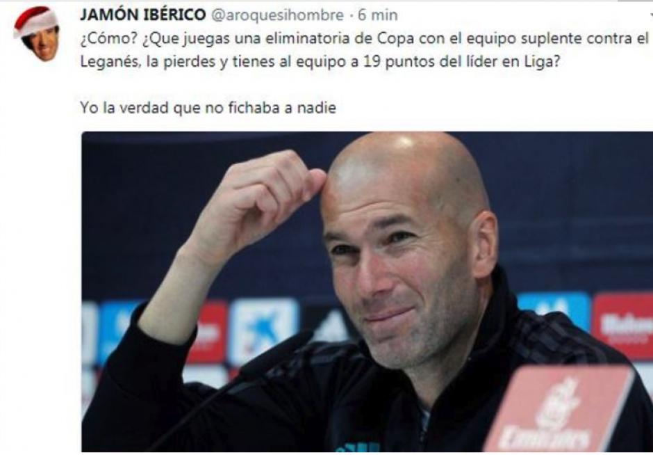 Y Benzema no sabe qué pasó. (Foto: Twitter)