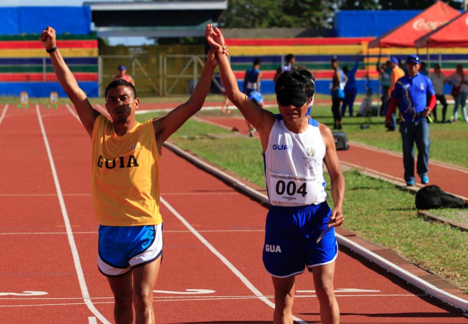 Raxón ganó tres medallas de oro en los Juegos Paracentroamericanos. (Foto: CDAG)